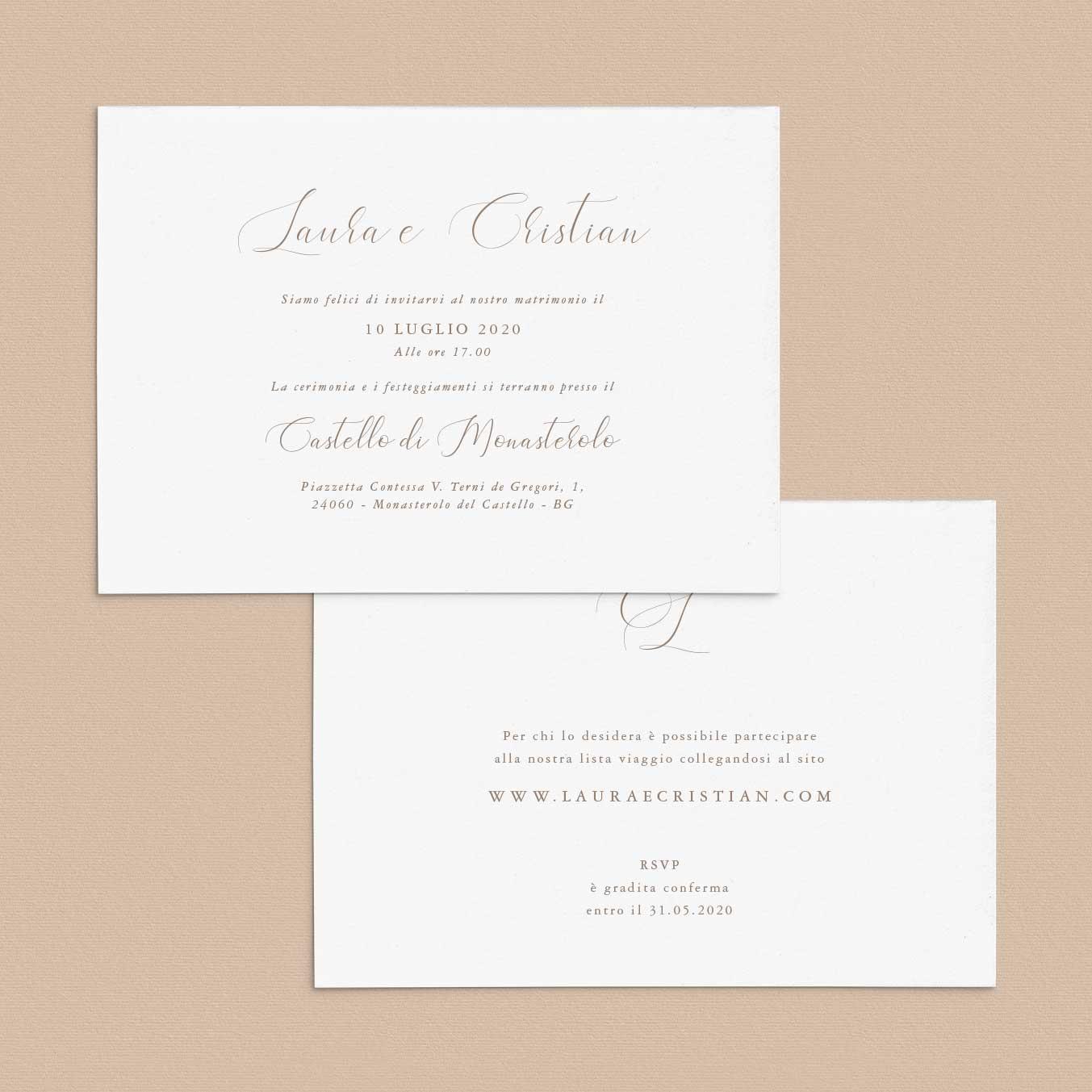 Inviti-di-matrimonio-partecipazioni-di-nozze-classici-classiche-calligrafia-calligrafiche-corsivo-elegante-iniziali-monogramma-semplici-idee-impaginazione