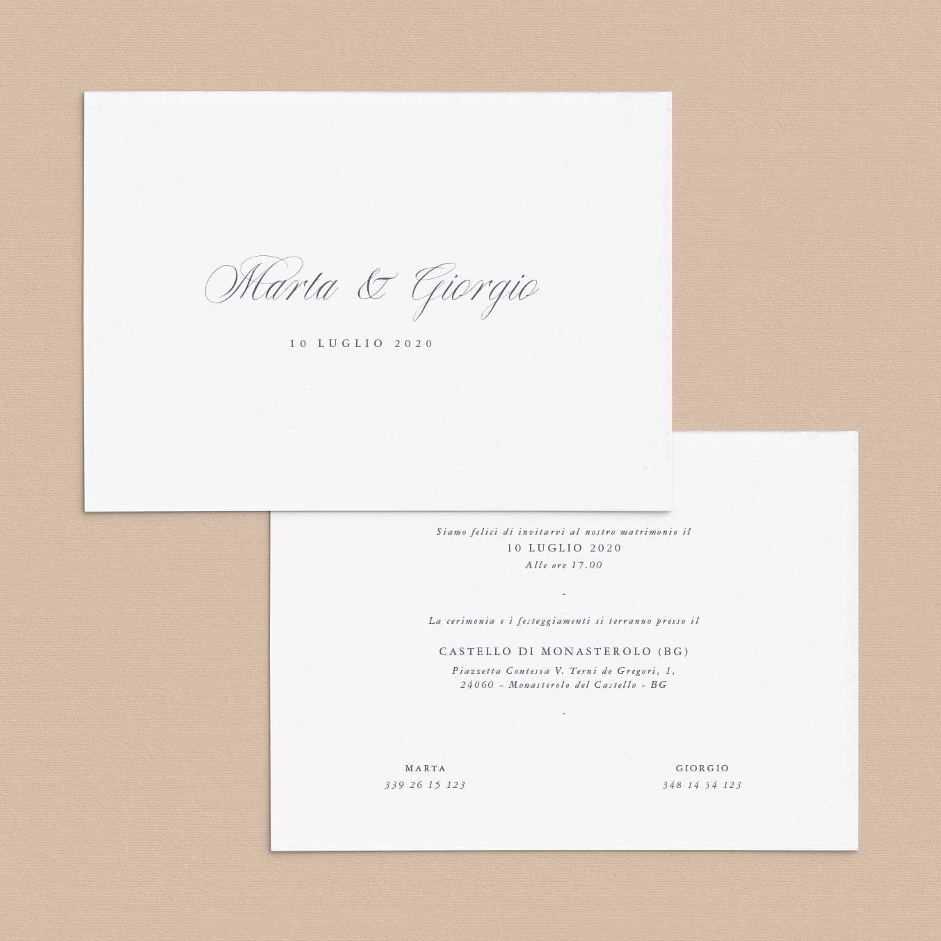 Inviti-di-matrimonio-partecipazioni-di-nozze-classici-classiche-elegante-eleganti-semplici-idee-impaginazione-corsivo-calligrafico-online