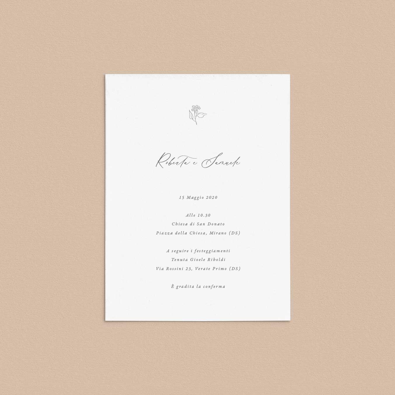 Inviti-matrimonio-partecipazioni-nozze-partecipazione-2020-sposi-catalogo-modelli-fiori-fiore-fiorellini-elegante