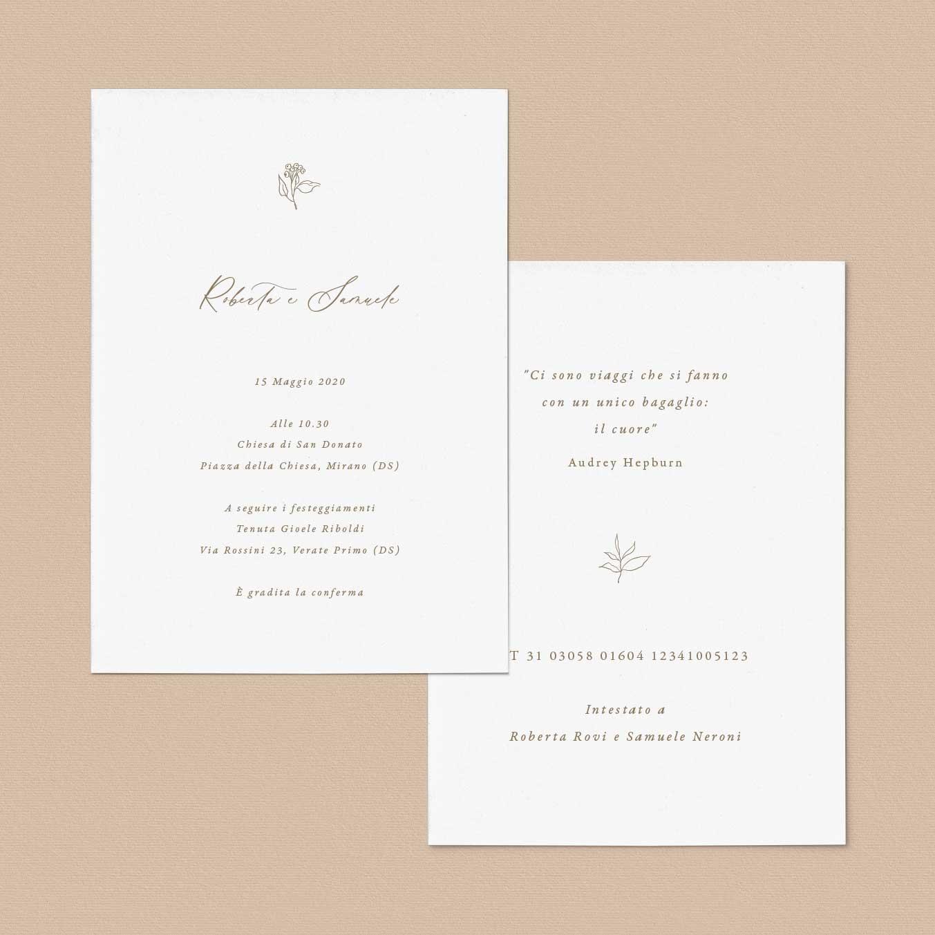 Inviti-matrimonio-partecipazioni-nozze-partecipazione-2020-sposi-catalogo-modelli-natura-fiori-fiore-fiorellini-idea-online-economiche
