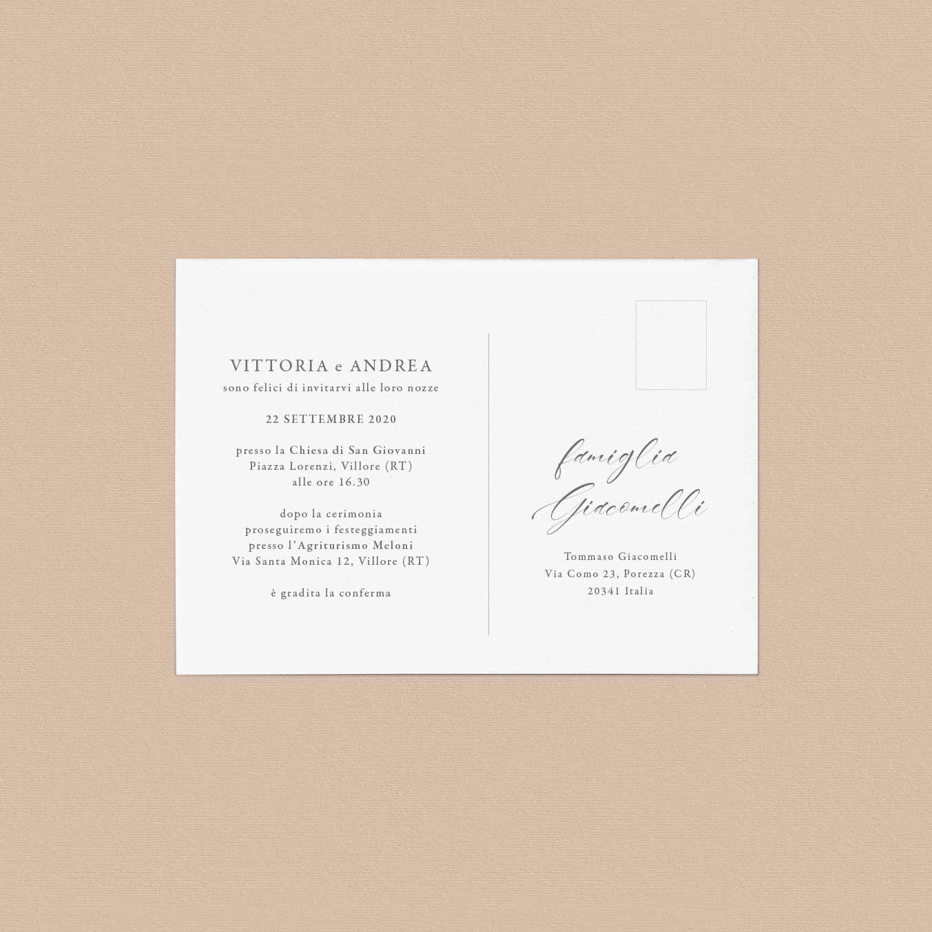 Inviti-partecipazioni-matrimonio-nozze-wedding-invitation-cartolina-postcard-vintage-particolare-tema-rustico-elegante-originale-idea