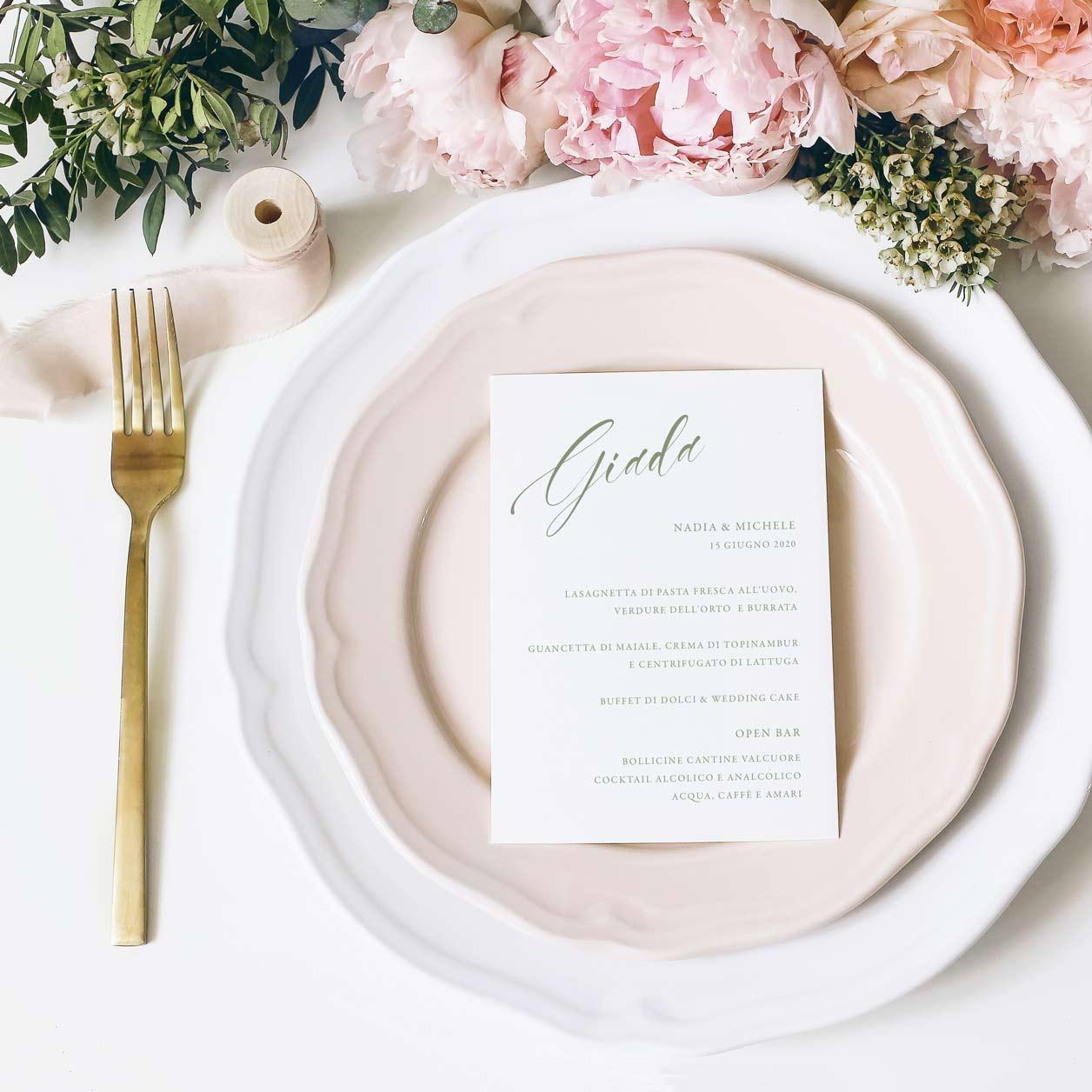 Menu-personalizzato-invitato-ospite-nome-rosa-azzurro-wedding-matrimonio-nozze-rose-oro