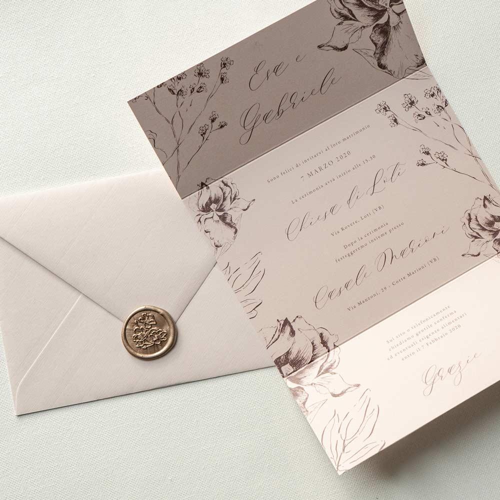 Partecipazioni-Matrimonio-Personalizzate-Milano-Nozze-Wedding-Inspiration-Rosa-Antico