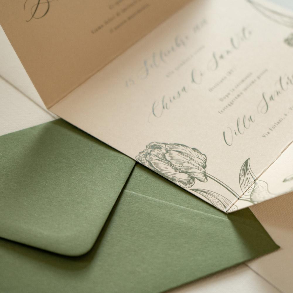 Partecipazioni-Matrimonio-Personalizzate-Milano-Rustic-Verde-Natura