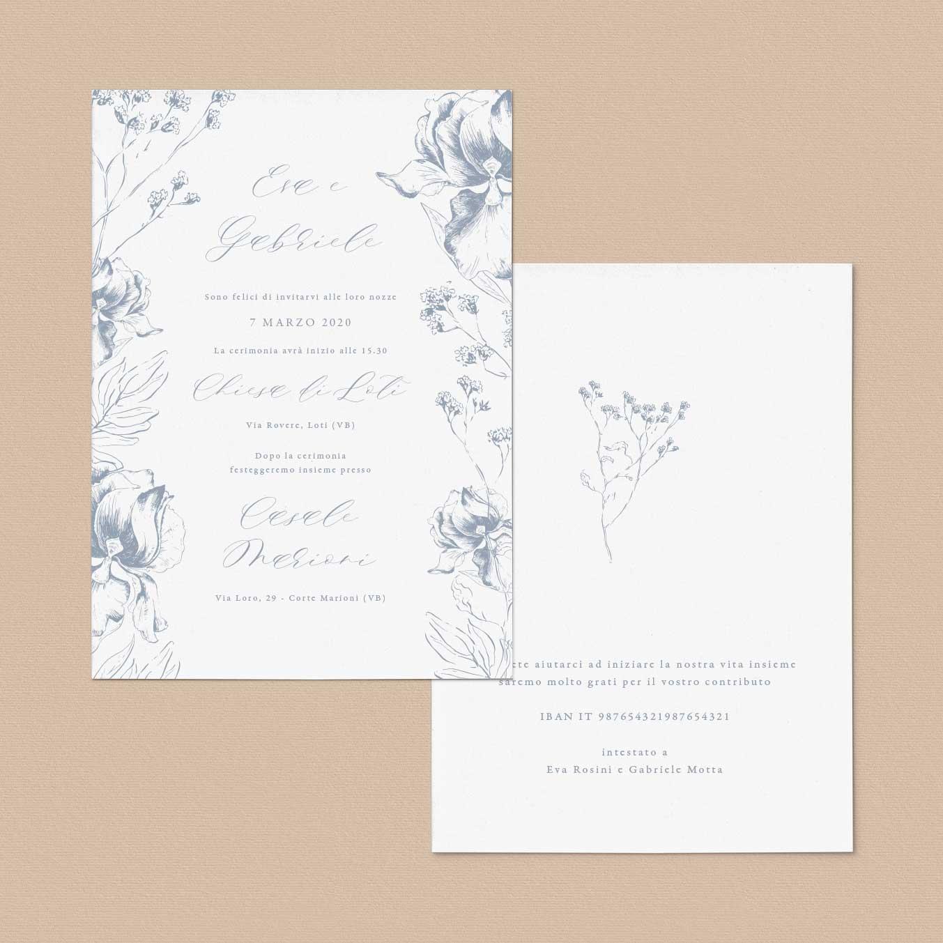 Partecipazioni-floreali-fiori-foglie-rustico-rustiche-inviti-matrimonio-nozze-eleganti-country-boho-chic-natura-natural-chic-elegant
