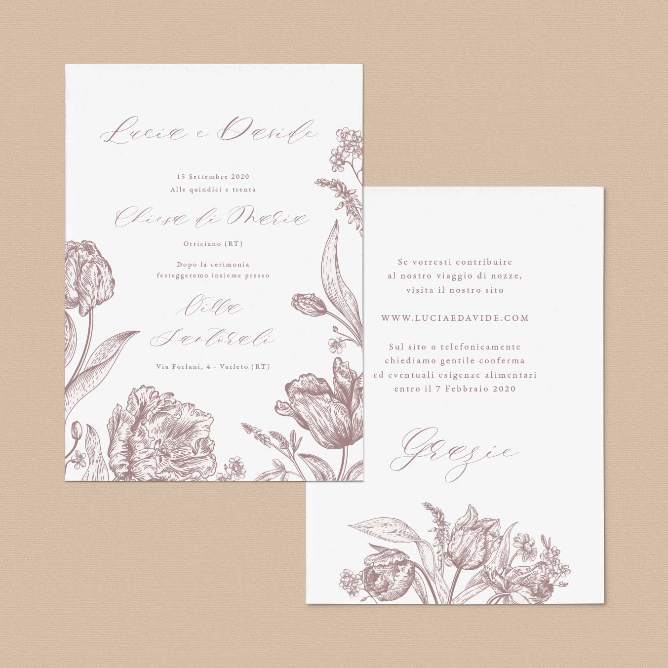 Partecipazioni-floreali-fiori-rustico-rustiche-inviti-matrimonio-nozze-eleganti-country-boho-chic-natura-natural-chic