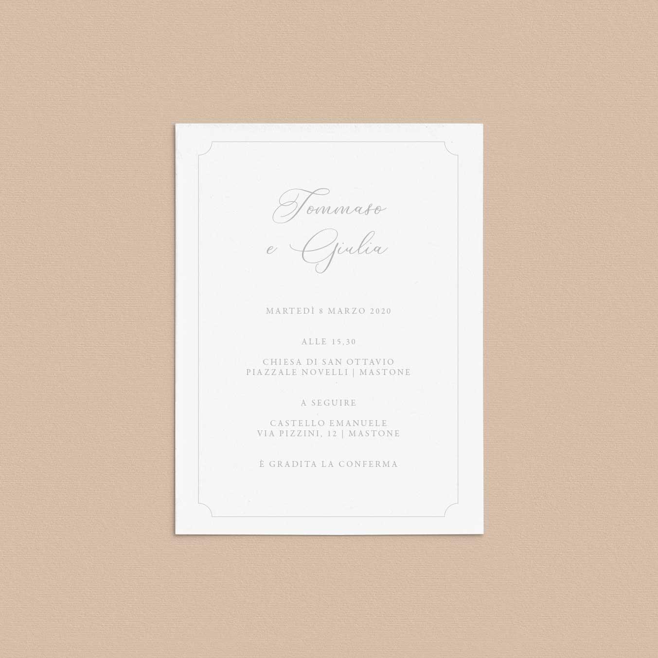 Partecipazioni-inviti-eleganti-matrimonio-2020-elegante-raffinato-monogramma-classico-classic