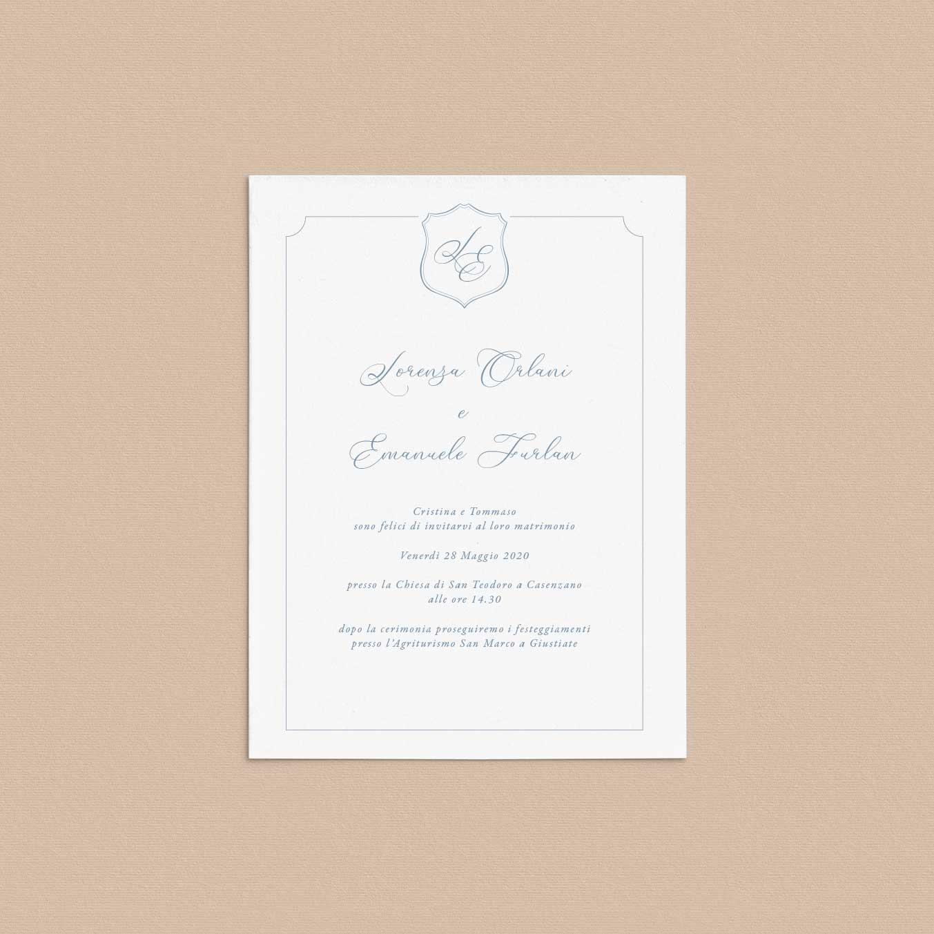 Partecipazioni-inviti-eleganti-matrimonio-wedding-invitation-2020-elegante-raffinato-crest-monogramma-monogram