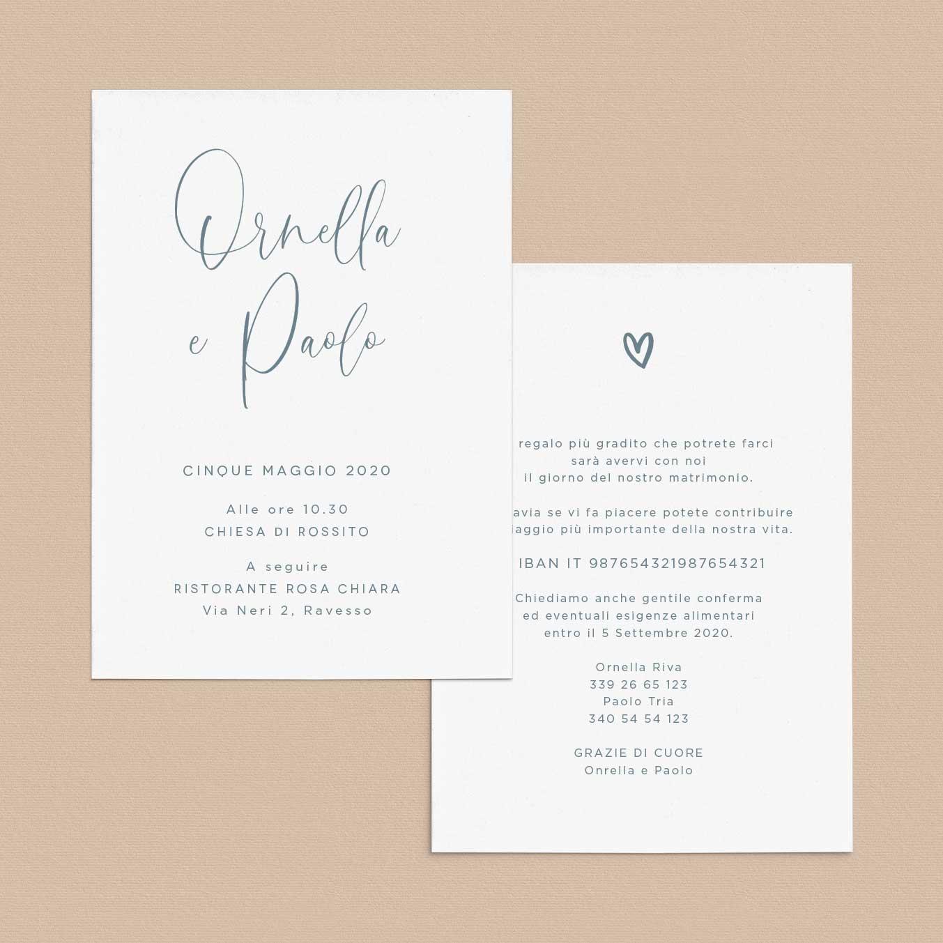 Partecipazioni-invito-matrimonio-azzurro-Boho-Chic-carta-calligraphy-corsivo