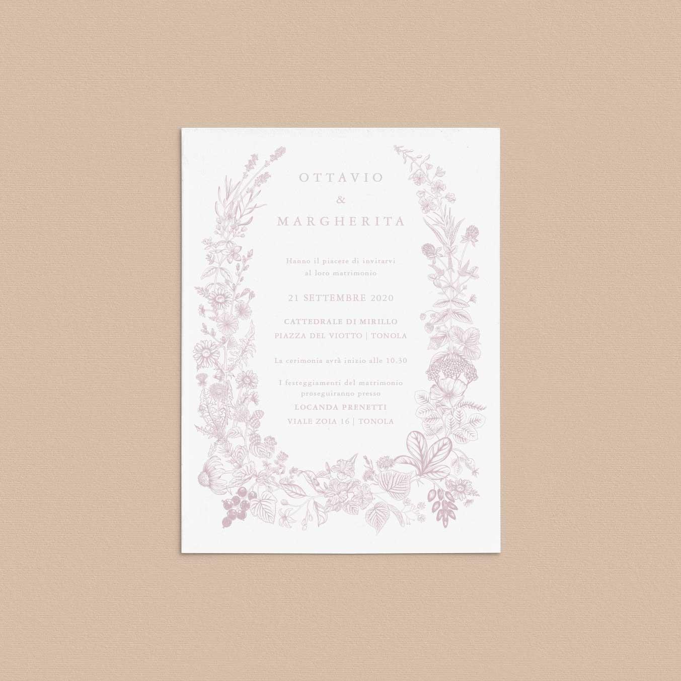 Partecipazioni-matrimonio-inviti-nozze-fiori-ghirlanda-ghirlande-fiore-natura-shabby-chic-green-rustic-boho-chic
