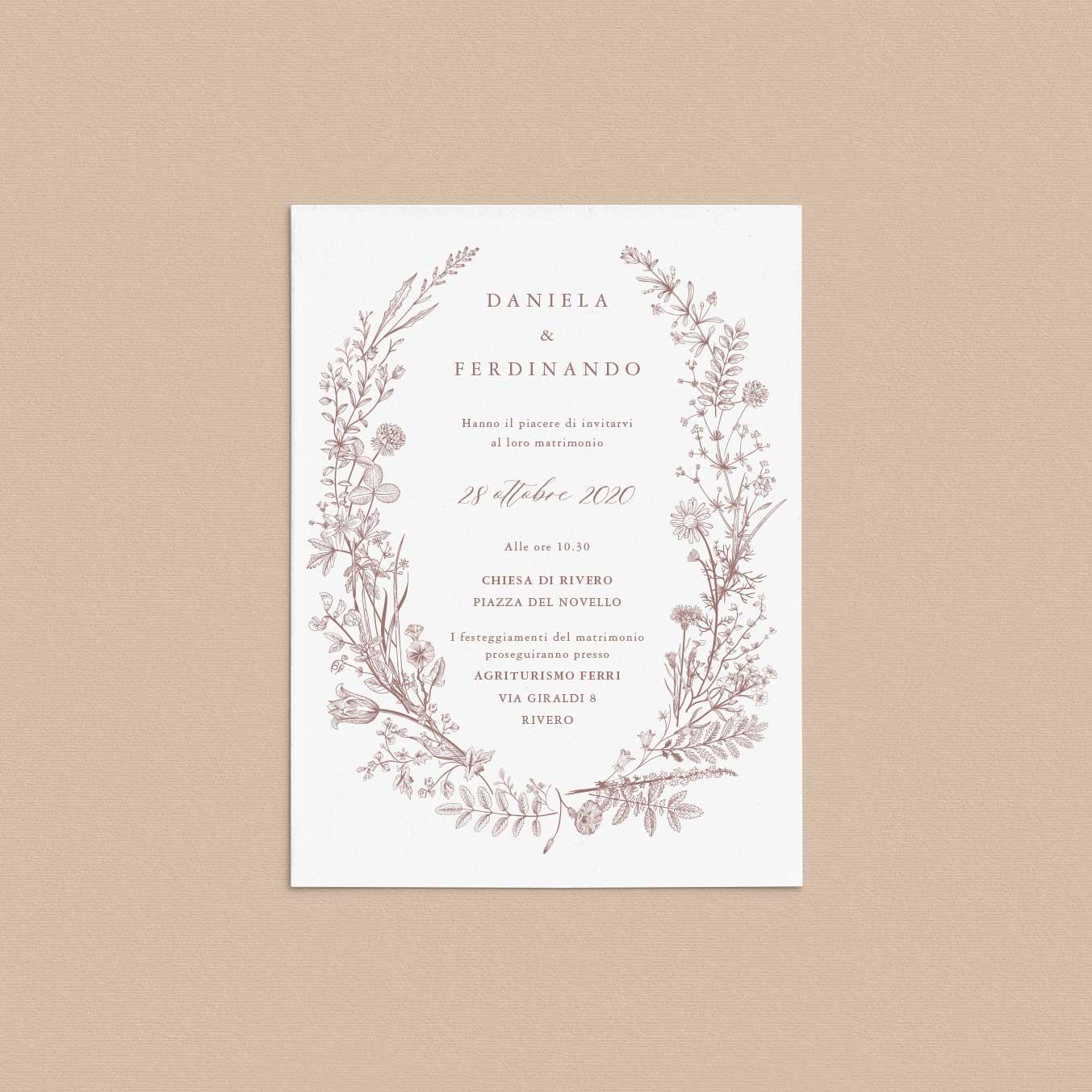 Partecipazioni-matrimonio-inviti-nozze-fiori-ghirlanda-ghirlande-fiore-tema-natura-natura-chic-green-rustico