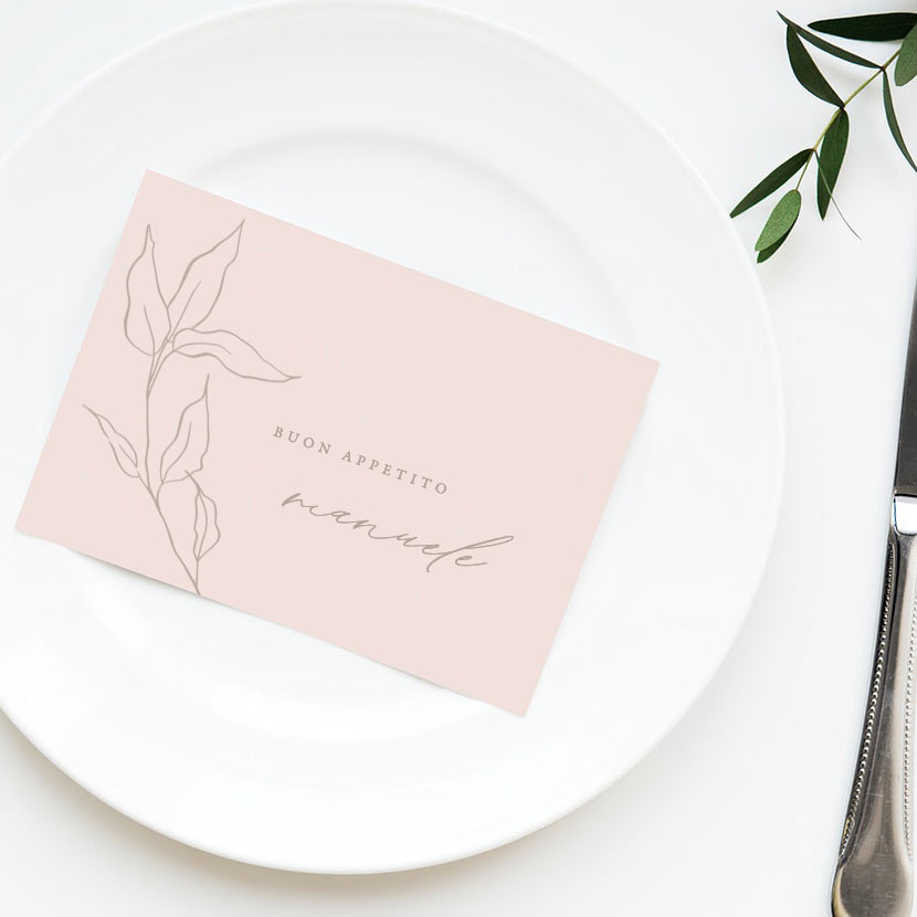 Segnaposto-place-card-nome-invitato-matrimonio-nozze-wedding-day-allestimento-rosa-antico