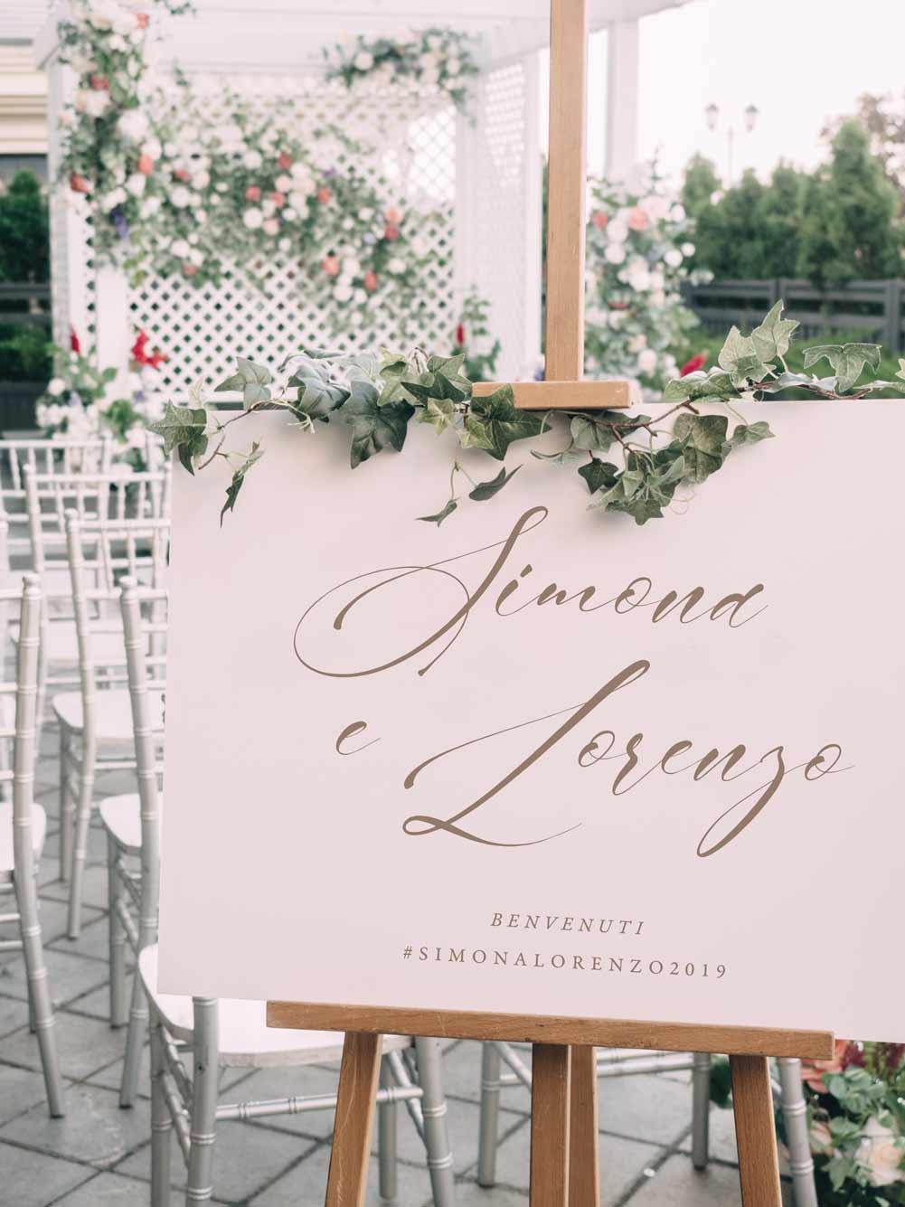 Welcome-sign-cavalletto-Cartello-di-benvenuto-matrimonio-nozze-wedding