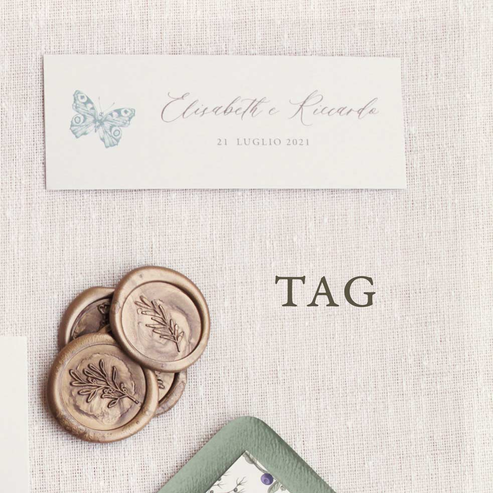 Partecipazioni-invito-nozze-matrimonio-fiori-verde-ulivo-margherite-botanica-farfalla-flower-wedding-lista-nozze-tag-bomboniera