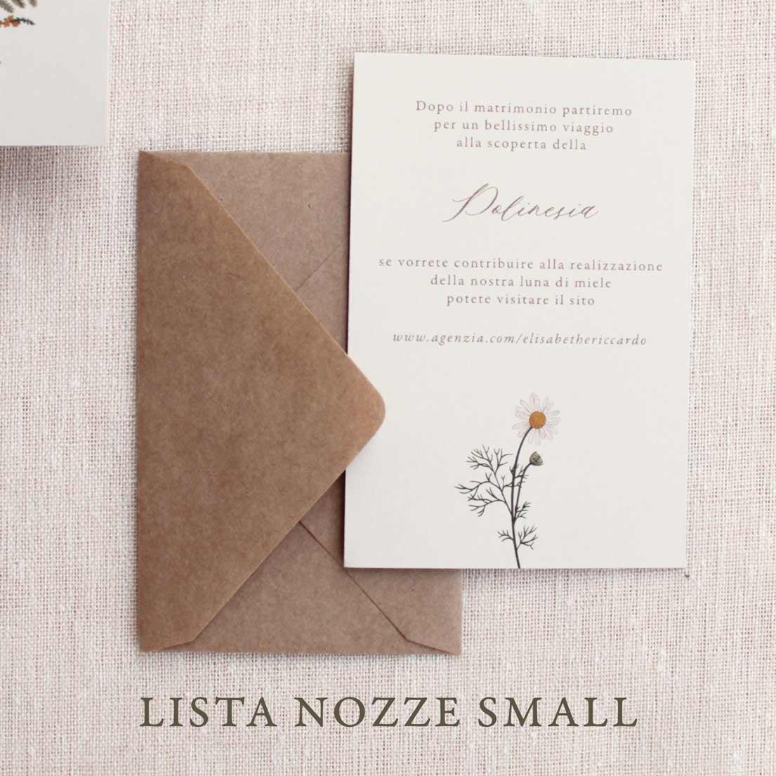 Partecipazioni-invito-nozze-matrimonio-fiori-verde-ulivo-margherite-flower-botanico-wedding-lista-nozze-iban