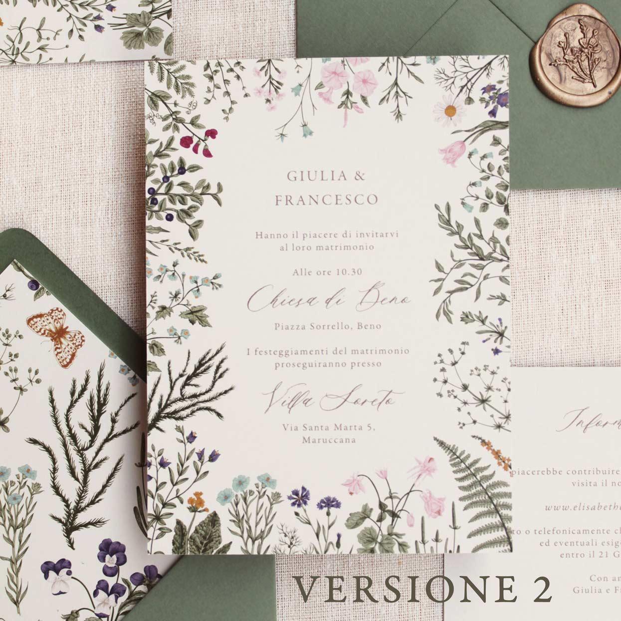 Partecipazioni-invito-nozze-matrimonio-fiori-verde-ulivo-margherite-flower-wedding-Invito-2