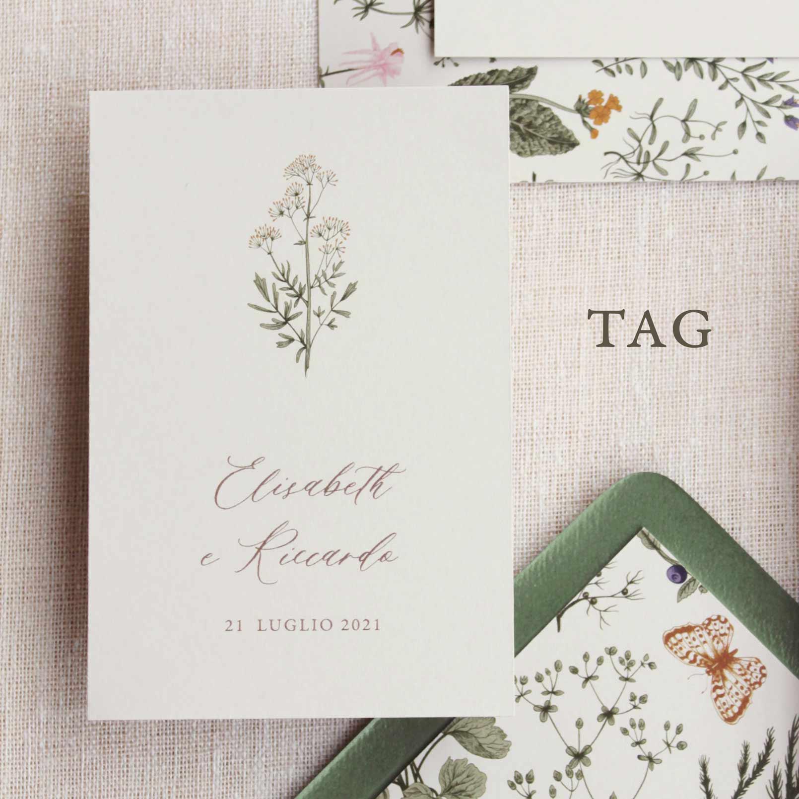 Partecipazioni-invito-nozze-matrimonio-fiori-verde-ulivo-margherite-flower-wedding-lista-nozze-tag-bomboniera